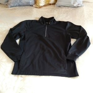 Black Nike golf quarter zip sweatshirt size M